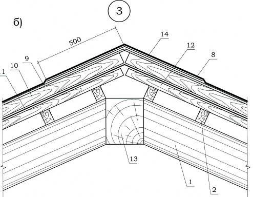 Как сделать крышу в автокад